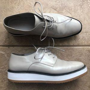VINCE reed platform oxfords shoes size 9